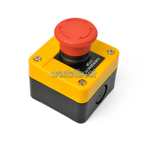 New Red Sign Emergency Stop Push Button 660V Switch High Quality Hotsel WST  £ 3.09.JPG